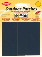 Outdoor-Patches, Fb. Dunkelblau
